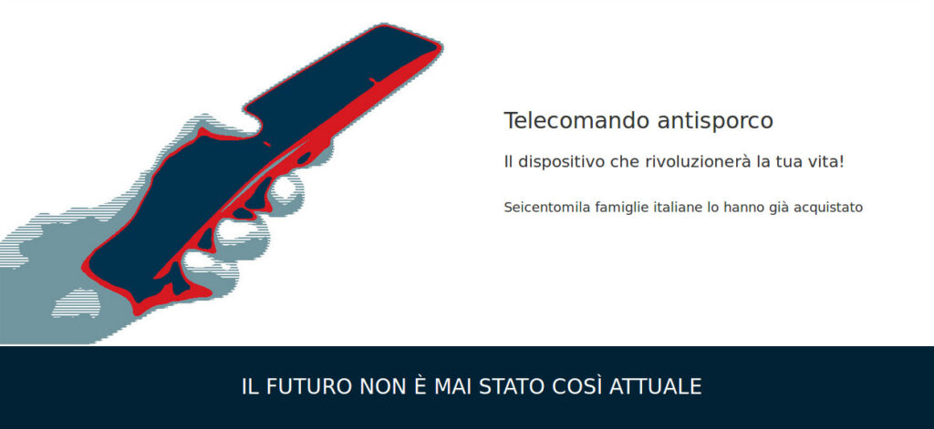 Telecomando antisporco 2021